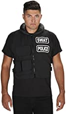 SWAT Team Vest Adult Costume One Size  sc 1 st  Costume Works & Swat Team Couple Halloween Costume - Photo 3/4