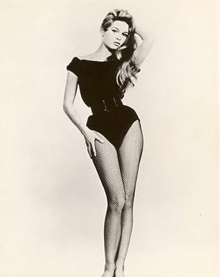 Amazoncom Brigitte Bardot Photo Fishnet Stockings Sexy Pinup Art