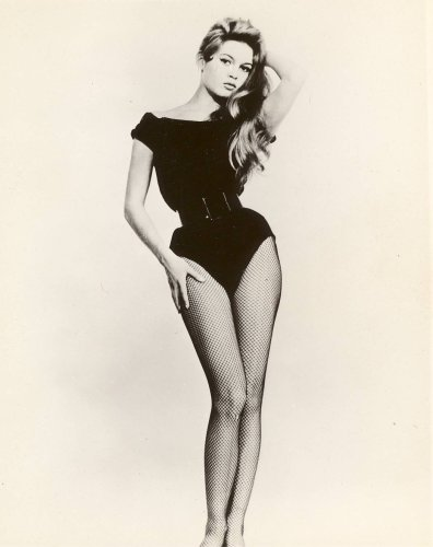 42027f2f761 Brigitte Bardot Photo Fishnet Stockings Sexy Pinup Art Girl Photo 8x10