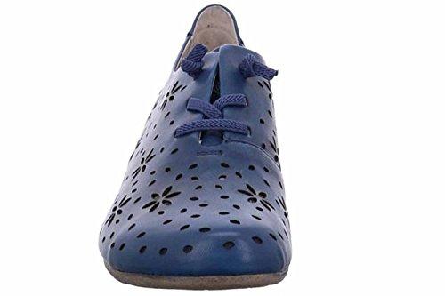 UK Blue Josef Derbys 4 Fiona Seibel Women's Blau 27 qwwRxfBp0
