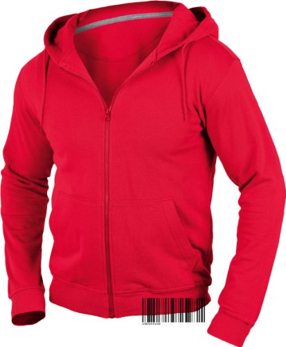 Underhood of London Men's 100% Organic Hooded Jacket - Hoodie Small (Organic Cotton Hooded Jacket)