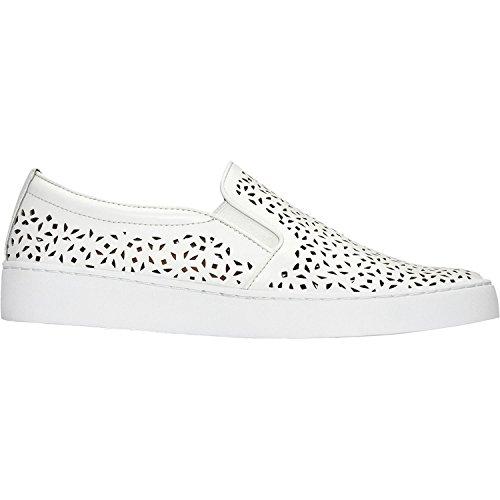 Vionic Womens Splendid Midi Perf Slip-On Loafer White Size 9.5 by Vionic