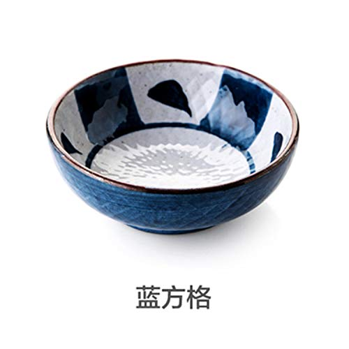1Pc Japanese-Glazed Ceramic Saucer Sauce Dish Kitchen Dessert Sushi Plate 1]()
