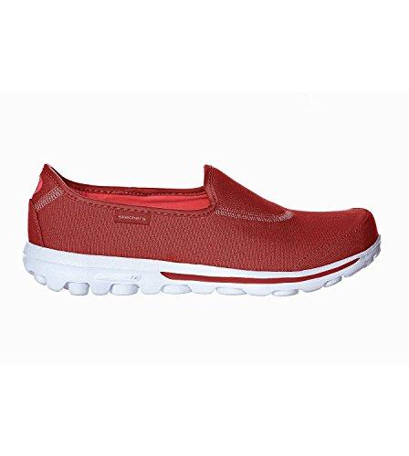 Skechers - Zapatillas de nordic walking de Material Sintético para mujer Red