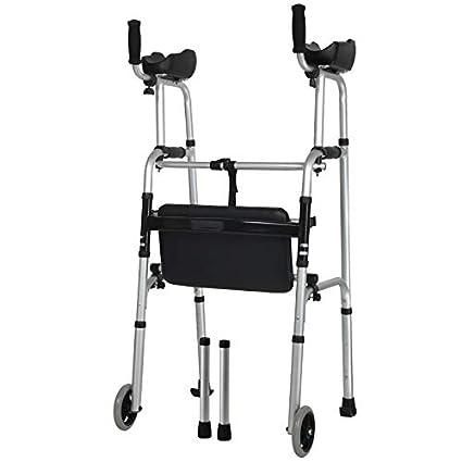 TYXHZL Bastidor para Caminar Andador de Armas de aleación de Aluminio para discapacitados Andador deshabilitado Equipo