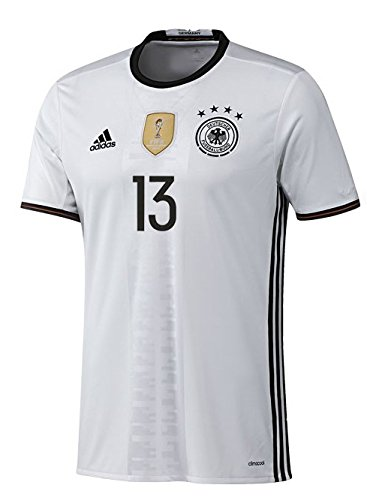 adidas DFB DEUTSCHLAND Trikot Home Kinder EURO 2016 - MÜLLER 13, Größe:164