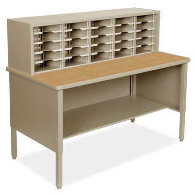 Mailroom 25 Adjustable Slot Literature Organizer