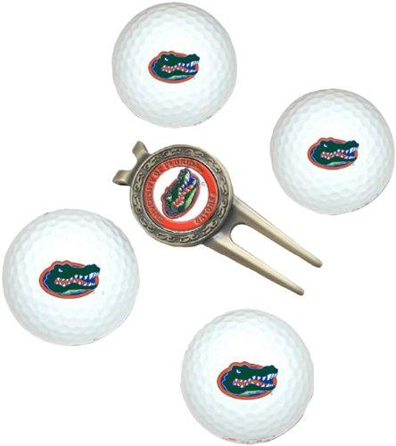 NCAA Florida Gators 4 Golf Ball And Divot Tool (Florida Gators Tool)