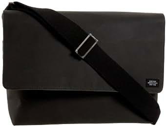 Jack Spade Waxwear Computer Field Messenger Bag,Chocolate,one size