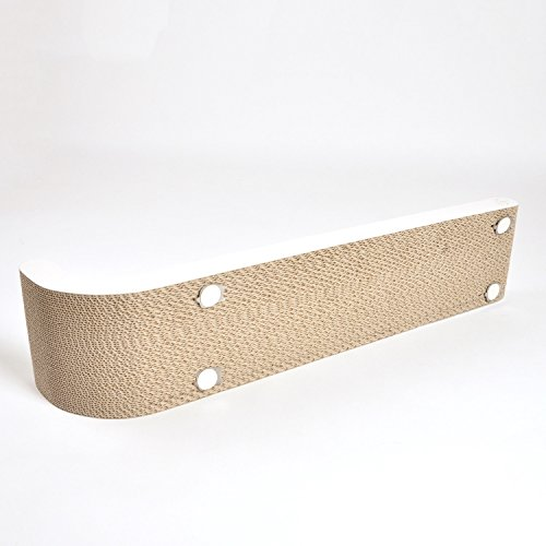 4claws wall mounted scratching post 26 white basics collection cat scratcher 11street - Wall mounted cat scratcher ...