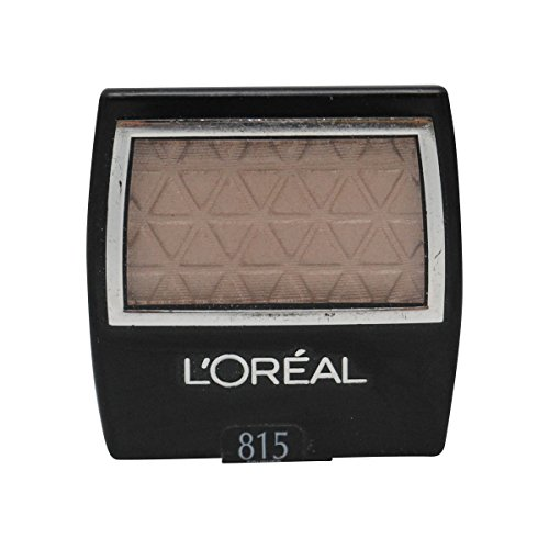 L'Oreal Paris Wear Infinite Eye Shadow Singles, Brushed Suede, 0.1 Ounces