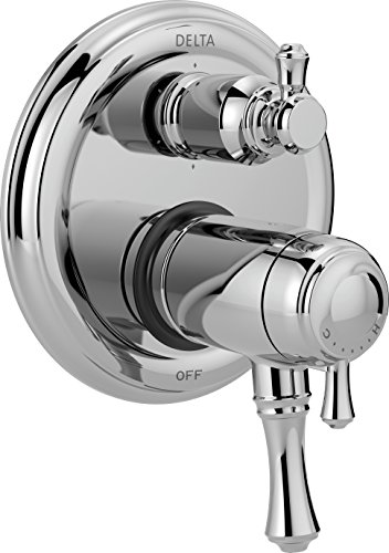 Delta Faucet T27T997 Cassidy Traditional TempAssure 17T Series Valve Trim with 6-Setting Integrated Diverter, ()