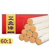 10 years'old Moxa Roll Strip Moxibustion Stick Pure 10pcs/box
