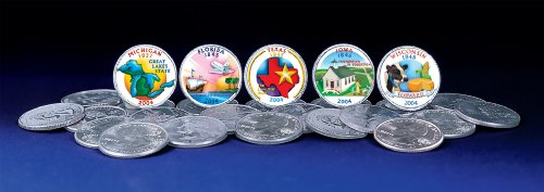 (American Coin Treasures 2004 Colorized Statehood Quarters)