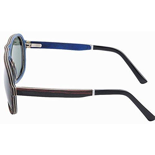 SunglassesMAN Yxsd de Aviator Libre de Gafas al Madera UV400 de Wayfarer Deportes de Vendimia la diseñador de Sol Retro Aire de Sol Gafas rrRAwdZq