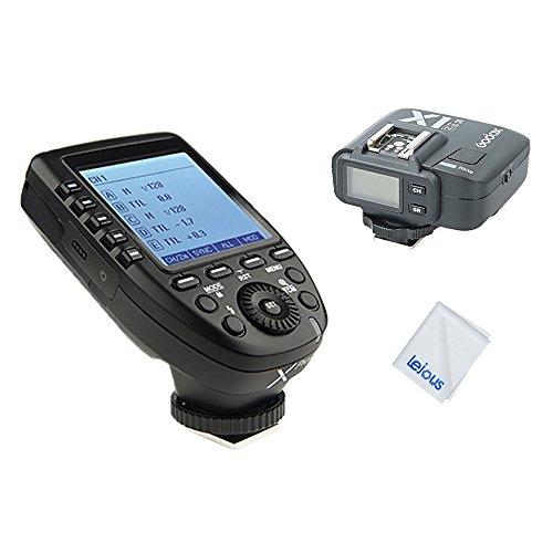 Godox Xpro-N 2.4G TTL Wireless Flash Trigger Transmitter with Godox X1R-N Receiver for Nikon Cameras 1/8000s HSS High Speed Sync by Godox