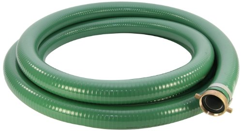 - Abbott Rubber PVC Suction Hose Assembly, Green, 1-1/2
