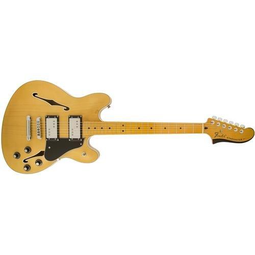 Electric Starcaster Fender (Fender Modern Player Starcaster, MN, Natural)
