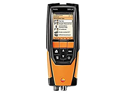 Testo 320 Residential/Commercial Combustion Analyzer Kit with Printer