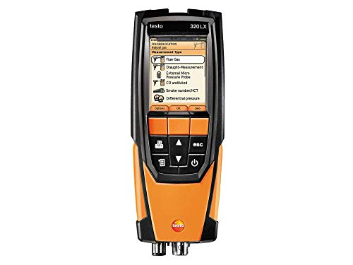 Testo 0563 3220 71 320 Residential/Commercial Combustion Analyzer Kit with Printer