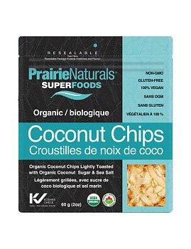 Prairie Naturals Organic Coconut Chips 60g
