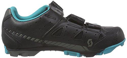 Scott MTB Elite Damen Radsportschuhe - Mountainbike Schwarz (Black/Turquoise)