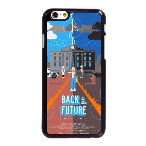 Retour vers le futur TP57YU5 coque iPhone 6 6S Plus de 5,5 pouces cas de téléphone portable C0BJ1W4BS Coque