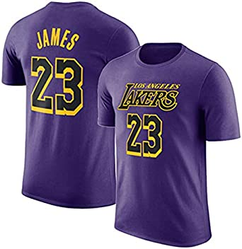 Camiseta De Baloncesto para Hombre Los Angeles Lakers Lebron James ...
