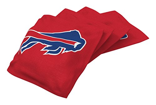 Wild Sports NFL Buffalo Bills Red Authentic Cornhole Bean Bag Set (4 Pack)