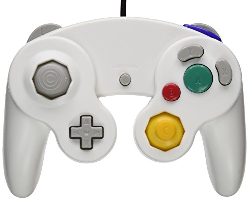 Mosuch Gamecube Controller For Nintendo White