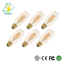 STOELE T45 4W 420Lm 220-240V Energy-saving LED Filament Bulb for Chandelier High Power Lamp 6-pack