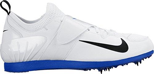 Nike Zoom Pv Ii Blanc / Bleu / Noir 317404-100 Taille: 15 Hommes Blanc / Bleu / Noir