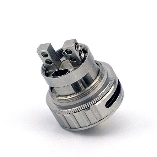 H&W 3.5ml Rebuildable Ohm Ega V2 RTA Tanque 304 SS Vapeador E-Cig Atomizador Sin Nicotina: Amazon.es: Salud y cuidado personal