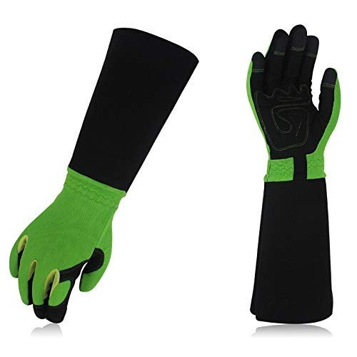 ACAO Rose Pruning Gloves for Men & Women, Long Thorn Proof Gardening Gloves, Best Garden Gifts & Tools for Gardener (Color : E, Size : S) by ACAO-Glove (Image #2)