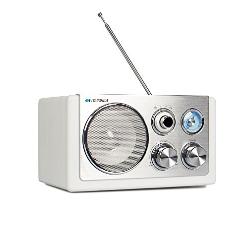 BLAUPUNKT RXN 18 Retro Design Radio mit Analog Tuner (UKW/MW, 3 Watt RMS)