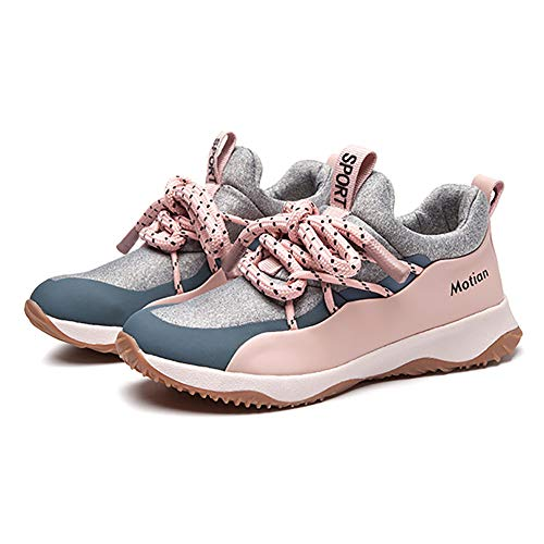 MHC Women's Sneakers,Shock Absorption Breathable Trainers Shoes,Comfort Light Sport Shoes,Camping Park Spring Summer Fall (Color : A, Size : 35) (Best Shoes For Walking With Ms)