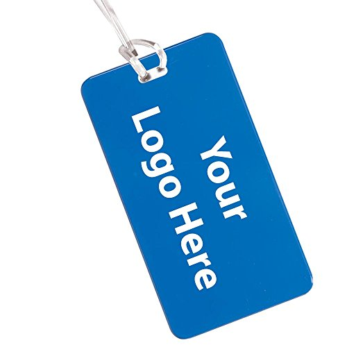 Hi Flyer Luggage Tag - 400 Quantity - $0.85 Each - PROMOTIONAL PRODUCT / BULK / Branded with YOUR LOGO / CUSTOMIZED by Sunrise Identity