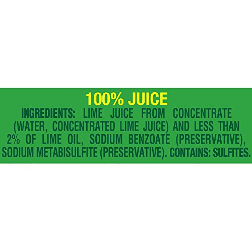 ReaLime 100% Lime Juice, 2.5 Fluid Ounce Bottle (Pack of 24) by Realime (Image #1)