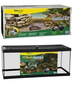 Tetra Usa STS26921 Reptile Enclosure, 20-Long by Tetra Usa Inc.