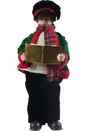 Santa's Workshop Christmas Day Carolers Figurine, Set of 4, 15'' x 18''
