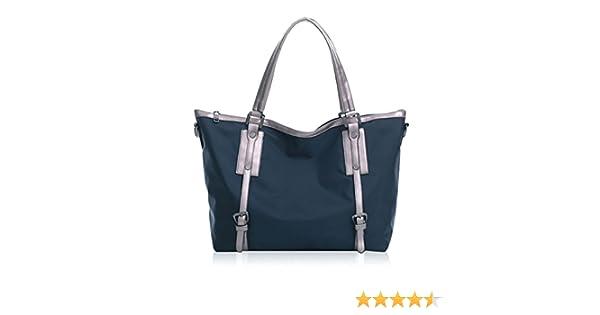 ae9074100b63 Amazon.com  Mily Large Waterproof Nylon Tote Bag