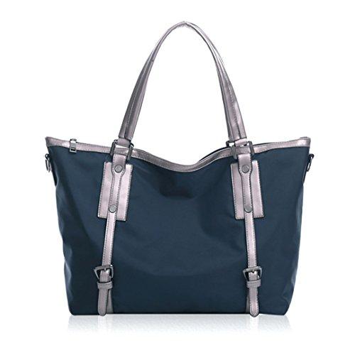 Millya - Bolso de asas para mujer, azul (Azul) - JB1007-03 azul oscuro