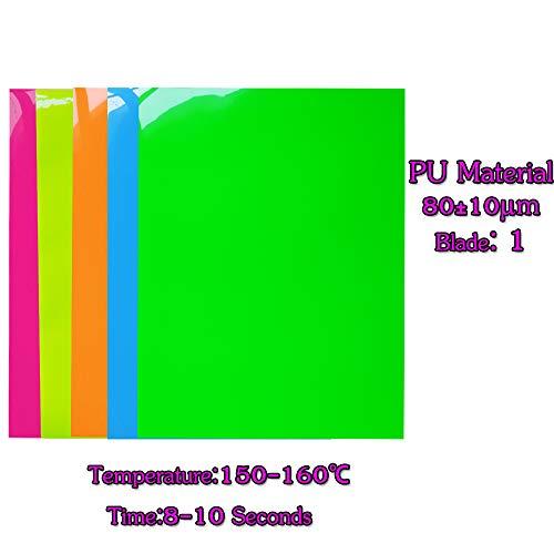 Neon Heat Transfer Vinylneon Color Heat Press Vinyl Iron On Htv