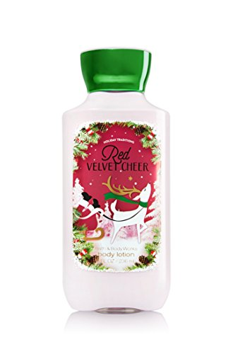 RED VELVET CHEER Limited Edition Holiday Traditions Shea and Vitamin E Body Lotion 8 oz 226 g