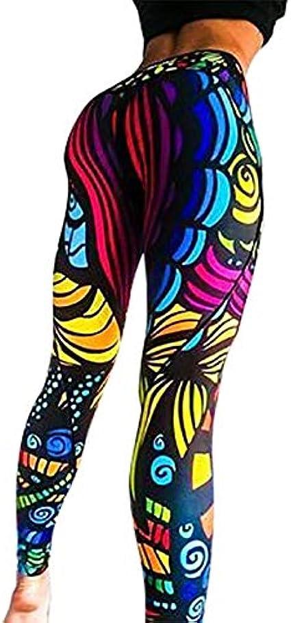Pantalones de yoga para mujer únicos de fitness leggings de entrenamiento sexy, push-up elástico para gimnasio, pantalones delgados