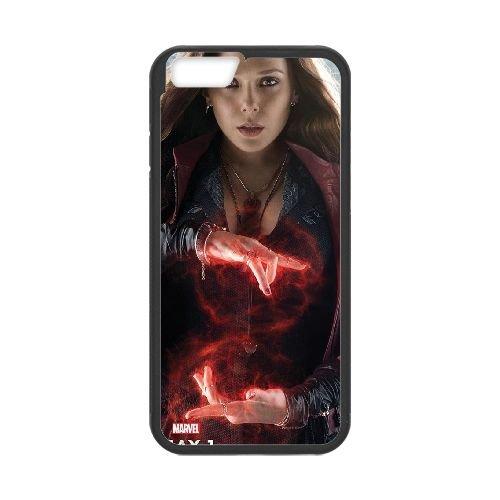 Avengers Age Of Ultron Black coque iPhone 6 Plus 5.5 Inch Housse téléphone Noir de couverture de cas coque EBDOBCKCO12125