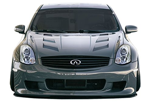 Duraflex ED-LNV-334 AM-S Hood - 1 Piece Body Kit - Compatible For Infiniti G Coupe 2003-2007 ()