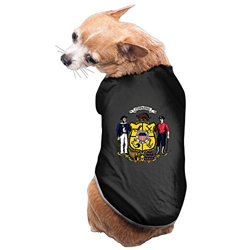 Wisconsin State Flag Dog Clothes Dog Sweater