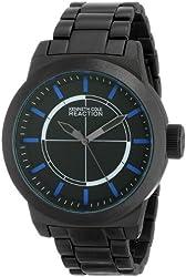 Kenneth Cole Reaction Unisex RK3253 Street Fashion Analog Display Japanese Quartz Black Watch