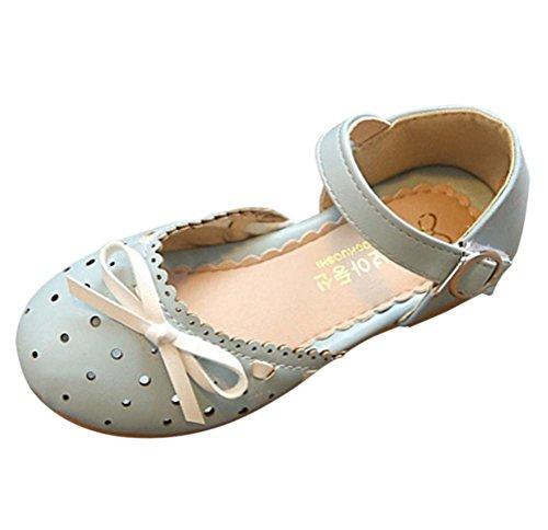 TPulling Mode Sommer Und Frühling�?T-3.5T﹜Kinder Mode Mädchen﹛Baotou Sandalen Bogen Einzelne﹜Prinzessin Strass Weiche Schuhe Flache Tanzschuhe Schuhe Turnschuhe Lässige Schuhe Blau